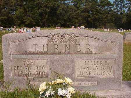 TURNER, LILLER E - Union County, Arkansas | LILLER E TURNER - Arkansas Gravestone Photos