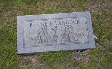 VANHOOK, BESSIE D. - Union County, Arkansas   BESSIE D. VANHOOK - Arkansas Gravestone Photos