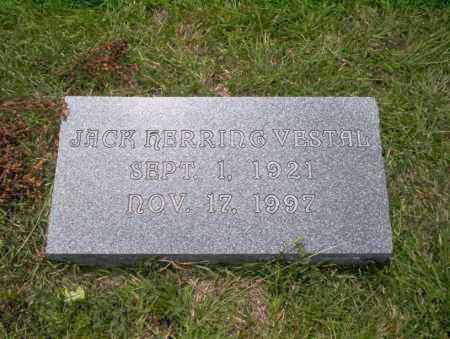 VESTAL, JACK HERRING - Union County, Arkansas | JACK HERRING VESTAL - Arkansas Gravestone Photos