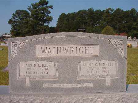 WAINWRIGHT, LAURIN L - Union County, Arkansas | LAURIN L WAINWRIGHT - Arkansas Gravestone Photos