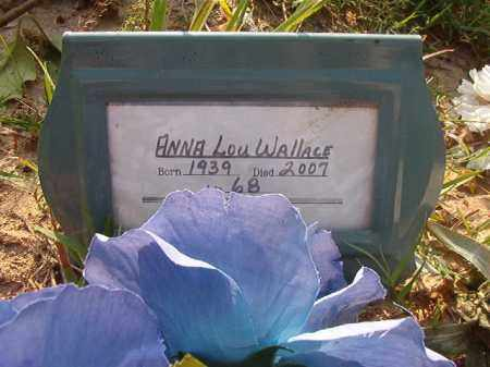 WALLACE, ANNA LOU - Union County, Arkansas | ANNA LOU WALLACE - Arkansas Gravestone Photos