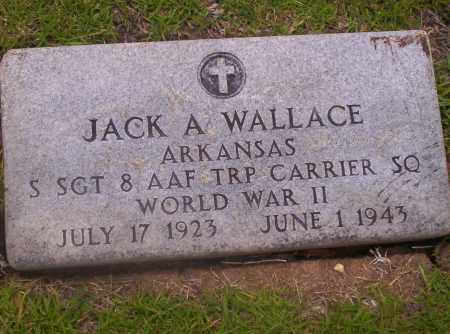 WALLACE, JACK A - Union County, Arkansas | JACK A WALLACE - Arkansas Gravestone Photos