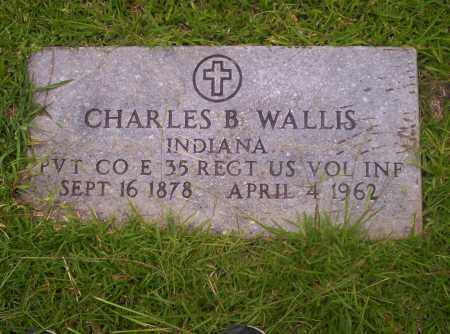 WALLIS  (VETERAN), CHARLES B. - Union County, Arkansas | CHARLES B. WALLIS  (VETERAN) - Arkansas Gravestone Photos