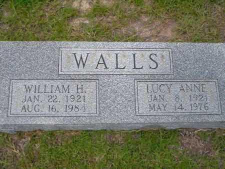 WALLS, LUCY ANNE - Union County, Arkansas | LUCY ANNE WALLS - Arkansas Gravestone Photos