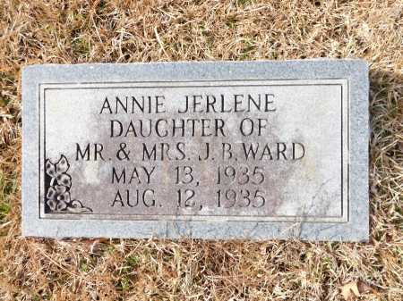 WARD, ANNIE JERLENE - Union County, Arkansas | ANNIE JERLENE WARD - Arkansas Gravestone Photos