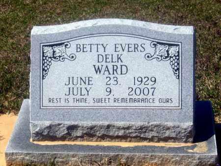 EVERS DELK, BETTY - Union County, Arkansas | BETTY EVERS DELK - Arkansas Gravestone Photos