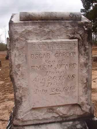 WARD, OSCAR GORDON - Union County, Arkansas | OSCAR GORDON WARD - Arkansas Gravestone Photos