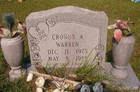 WARREN, CRONUS A - Union County, Arkansas | CRONUS A WARREN - Arkansas Gravestone Photos