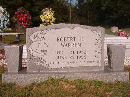 WARREN, ROBERT E - Union County, Arkansas   ROBERT E WARREN - Arkansas Gravestone Photos