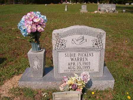 WARREN, SUDIE - Union County, Arkansas | SUDIE WARREN - Arkansas Gravestone Photos