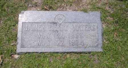 WATERS, JAMES HENRY - Union County, Arkansas | JAMES HENRY WATERS - Arkansas Gravestone Photos