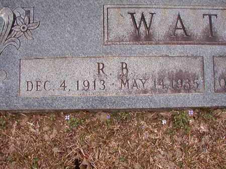 WATTS, R B - Union County, Arkansas | R B WATTS - Arkansas Gravestone Photos