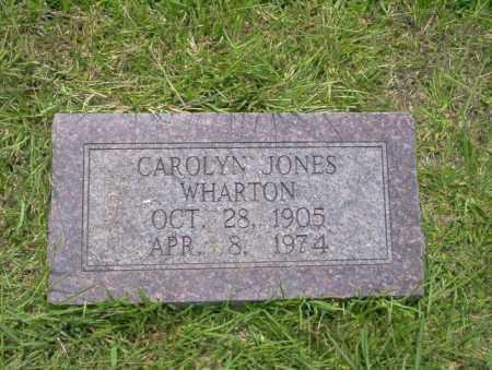 WHARTON, CAROLYN - Union County, Arkansas | CAROLYN WHARTON - Arkansas Gravestone Photos