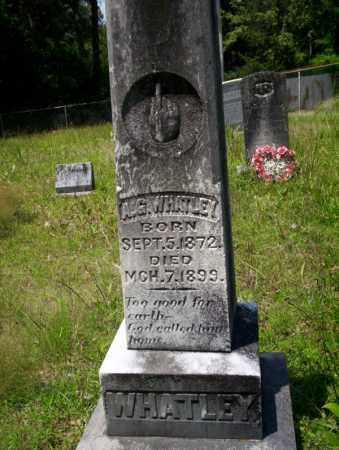 WHATLEY, A.G. - Union County, Arkansas | A.G. WHATLEY - Arkansas Gravestone Photos