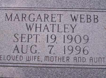 WHATLEY, MARGARET - Union County, Arkansas | MARGARET WHATLEY - Arkansas Gravestone Photos