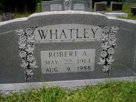 WHATLEY, ROBERT A - Union County, Arkansas   ROBERT A WHATLEY - Arkansas Gravestone Photos