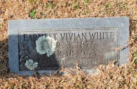 WHITE, EARNEST VIVIAN - Union County, Arkansas | EARNEST VIVIAN WHITE - Arkansas Gravestone Photos
