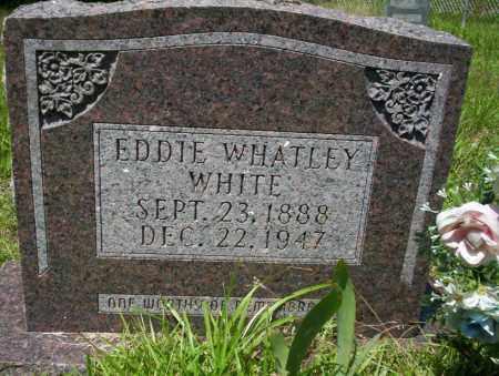 WHITE, EDDIE WHATLEY - Union County, Arkansas   EDDIE WHATLEY WHITE - Arkansas Gravestone Photos