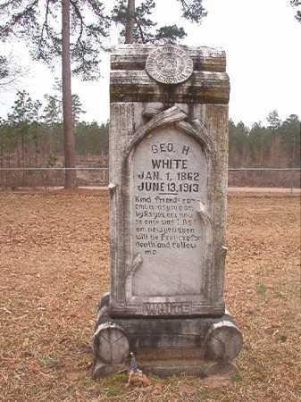 WHITE, GEORGE H - Union County, Arkansas | GEORGE H WHITE - Arkansas Gravestone Photos