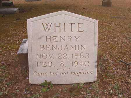 WHITE, HENRY BENJAMIN - Union County, Arkansas | HENRY BENJAMIN WHITE - Arkansas Gravestone Photos