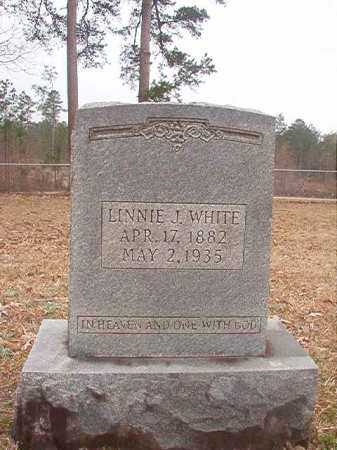 WHITE, LINNIE J - Union County, Arkansas | LINNIE J WHITE - Arkansas Gravestone Photos