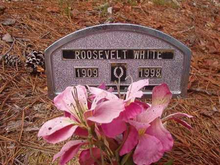 WHITE, ROOSEVELT - Union County, Arkansas | ROOSEVELT WHITE - Arkansas Gravestone Photos