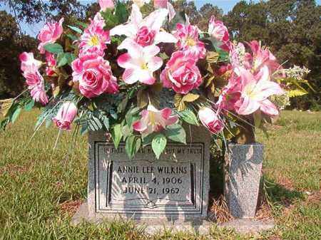 WILKINS, ANNIE LEE - Union County, Arkansas | ANNIE LEE WILKINS - Arkansas Gravestone Photos