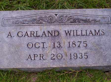 WILLIAMS, A. GARLAND - Union County, Arkansas | A. GARLAND WILLIAMS - Arkansas Gravestone Photos