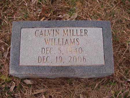 WILLIAMS, CALVIN MILLER - Union County, Arkansas | CALVIN MILLER WILLIAMS - Arkansas Gravestone Photos
