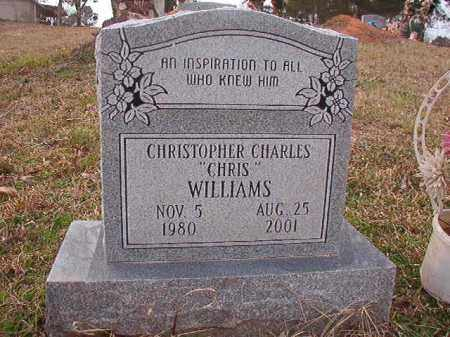 WILLIAMS, CHRISTOPHER CHARLES - Union County, Arkansas | CHRISTOPHER CHARLES WILLIAMS - Arkansas Gravestone Photos