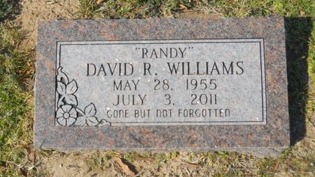 "WILLIAMS, DAVID R ""RANDY"" - Union County, Arkansas   DAVID R ""RANDY"" WILLIAMS - Arkansas Gravestone Photos"