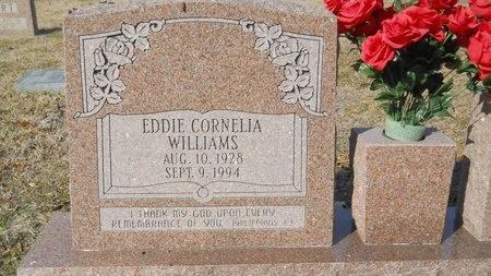 WILLIAMS, EDDIE CORNELIA - Union County, Arkansas | EDDIE CORNELIA WILLIAMS - Arkansas Gravestone Photos