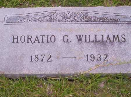 WILLIAMS, HORATIO G. - Union County, Arkansas   HORATIO G. WILLIAMS - Arkansas Gravestone Photos