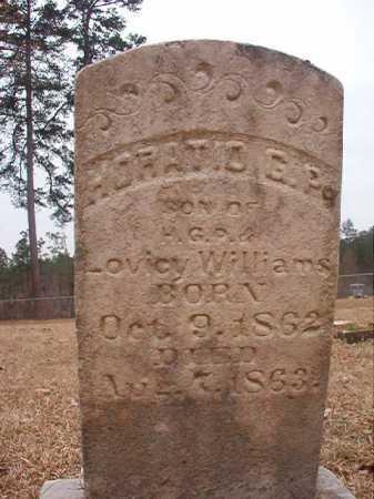 WILLIAMS, HORATIO G P - Union County, Arkansas | HORATIO G P WILLIAMS - Arkansas Gravestone Photos