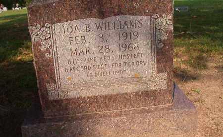 WILLIAMS, IDA B - Union County, Arkansas | IDA B WILLIAMS - Arkansas Gravestone Photos