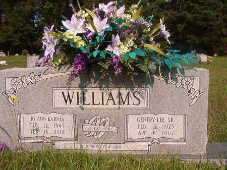 WILLIAMS, SR, GENTRY LEE - Union County, Arkansas | GENTRY LEE WILLIAMS, SR - Arkansas Gravestone Photos