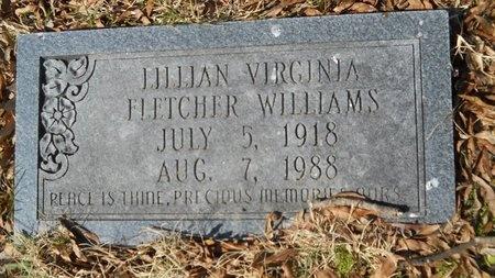 WILLIAMS, LILLIAN VIRGINIA - Union County, Arkansas | LILLIAN VIRGINIA WILLIAMS - Arkansas Gravestone Photos