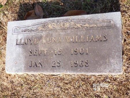 WILLIAMS, LLOYD DONA - Union County, Arkansas | LLOYD DONA WILLIAMS - Arkansas Gravestone Photos