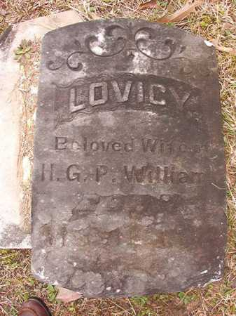 WILLIAMS, LOVICY - Union County, Arkansas | LOVICY WILLIAMS - Arkansas Gravestone Photos