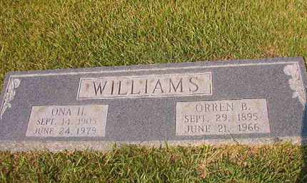 WILLIAMS, ONA H - Union County, Arkansas | ONA H WILLIAMS - Arkansas Gravestone Photos