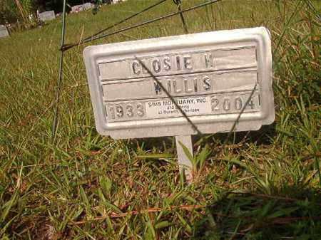 WILLIS, CLOSIE M - Union County, Arkansas | CLOSIE M WILLIS - Arkansas Gravestone Photos
