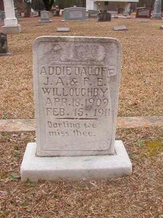 WILLOUGHBY, ADDIE - Union County, Arkansas | ADDIE WILLOUGHBY - Arkansas Gravestone Photos