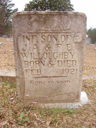 WILLOUGHBY, INFANT SON - Union County, Arkansas   INFANT SON WILLOUGHBY - Arkansas Gravestone Photos