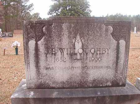 WILLOUGHBY, J E - Union County, Arkansas | J E WILLOUGHBY - Arkansas Gravestone Photos