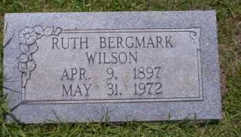 BERGMARK WILSON, RUTH - Union County, Arkansas   RUTH BERGMARK WILSON - Arkansas Gravestone Photos