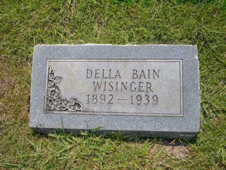 BAIN WISINGER, DELLA - Union County, Arkansas | DELLA BAIN WISINGER - Arkansas Gravestone Photos