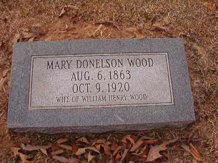 WOOD, MARY - Union County, Arkansas | MARY WOOD - Arkansas Gravestone Photos