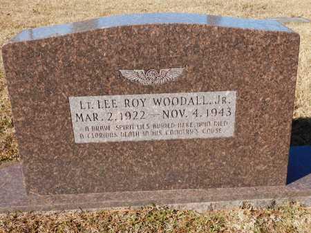 WOODALL, JR (VETERAN WWII), LEE ROY - Union County, Arkansas | LEE ROY WOODALL, JR (VETERAN WWII) - Arkansas Gravestone Photos
