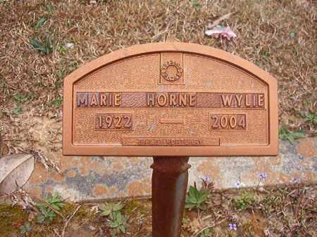 WYLIE, MARIE - Union County, Arkansas | MARIE WYLIE - Arkansas Gravestone Photos