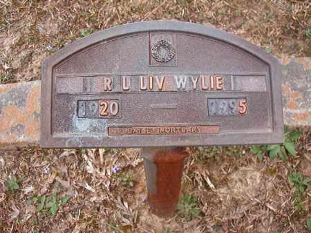 "WYLIE, R L ""LIV"" - Union County, Arkansas   R L ""LIV"" WYLIE - Arkansas Gravestone Photos"
